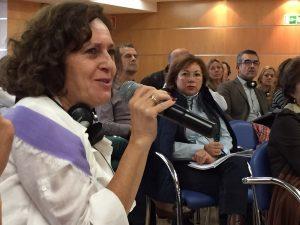Intervención de Paloma García, control oficial del Gobierno de Canarias. Foto: Joaquín Manchado