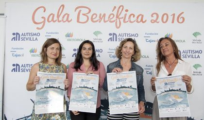 QueRed en la XVII Gala benéfica Autismo de Sevilla